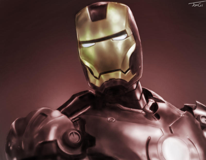 Iron Man by Tom-Cii