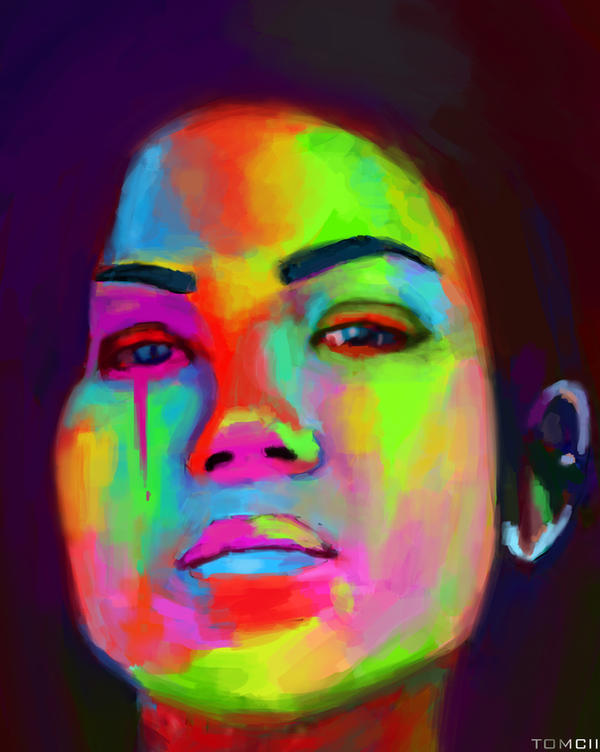 Jhene Aiko by Tom-Cii