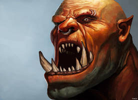 Garrosh Hellscream - Study by Tom-Cii