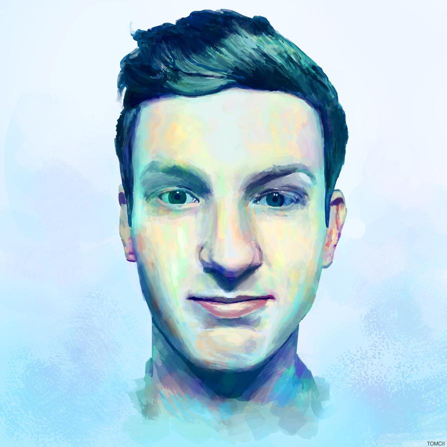 Self Portrait 2014 by Tom-Cii
