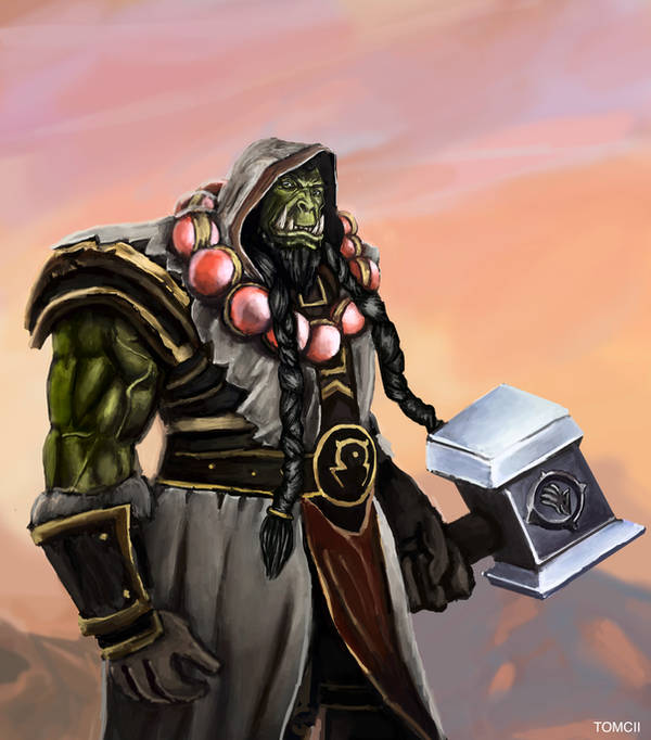 Thrall by Tom-Cii