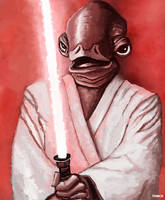 Jedi Knight Ackbar by Tom-Cii