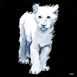 Ghost Baby Lion by Tom-Cii