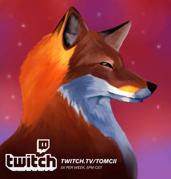 Livestreaming On Twitch by Tom-Cii