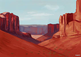 Landscape 5 by Tom-Cii