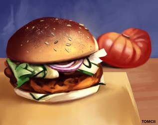 Burger by Tom-Cii
