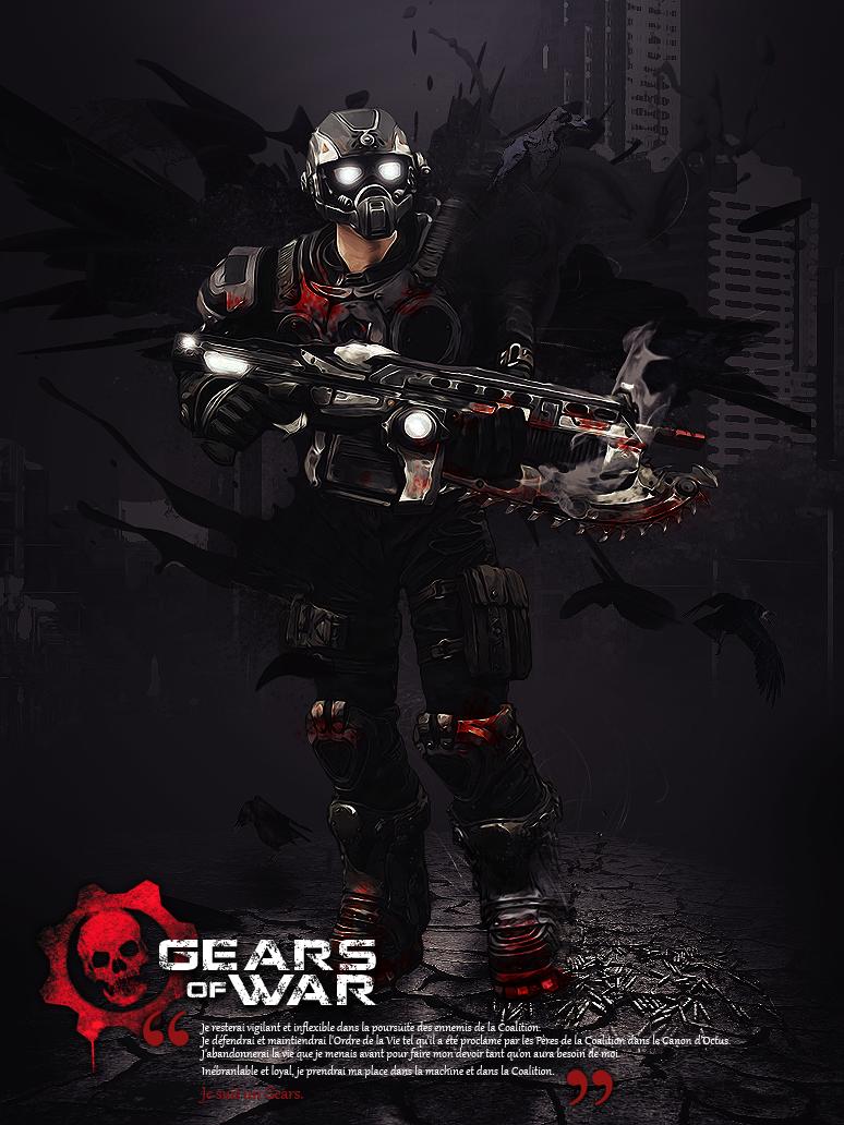 Carmine gears of war by abzo on deviantart - Gears of war carmine wallpaper ...