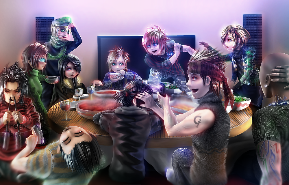Party Time  By Greenibr-d8pa0go by GreenIbr
