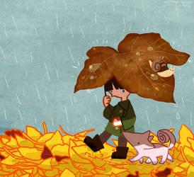 rainy rainy by lunaset