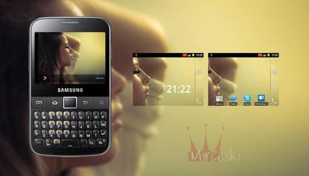 Samsung Galaxy Y Pro by JunkieMKD