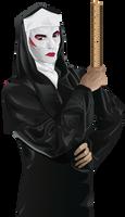 Drag Nun by aliquotoculos