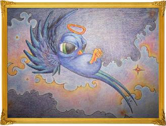 Blue Dove by Lunasolstice