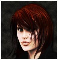 A Poser Portrait by brokenangel
