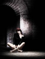 Sitting at the Corner by brokenangel