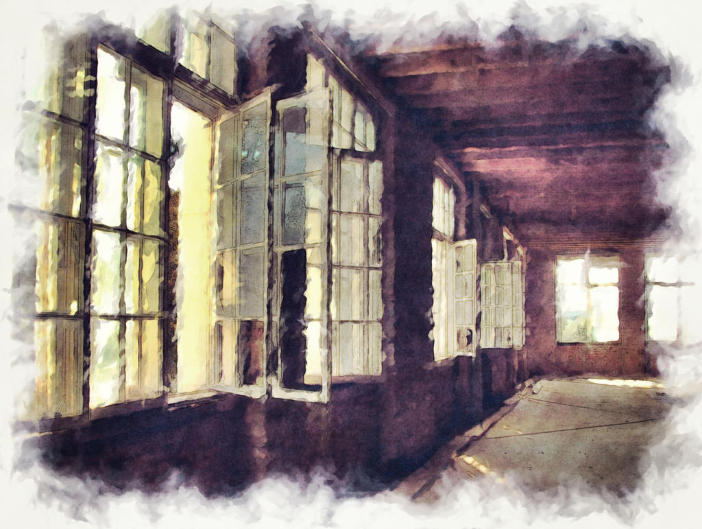 Abandoned Factory by brokenangel