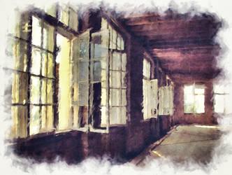 Abandoned Factory by brokenangel