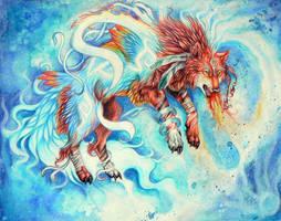 Li Liang He Guang by wolf-minori