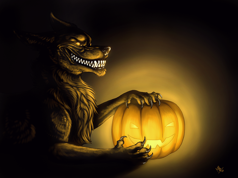happy halloween fellas by wolf minori - Wolf Halloween