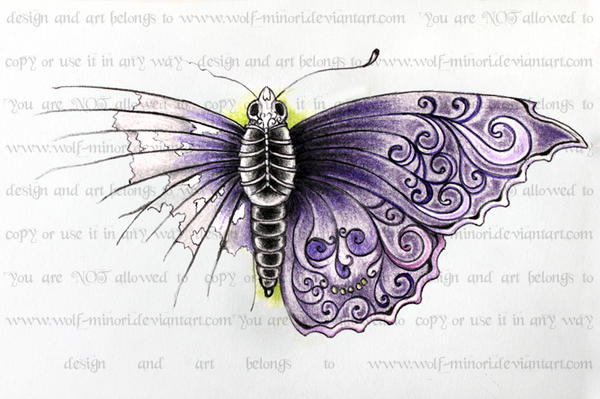 Butterfly of Death by wolf-minori