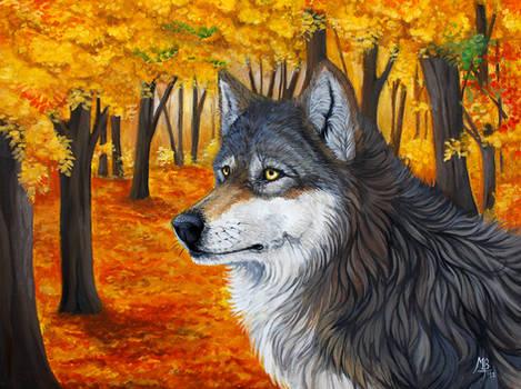 The Autumn Wolf