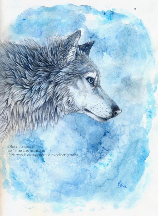 Aquamarine by wolf-minori