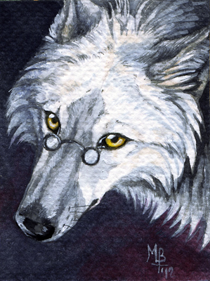 ACEO  xCollecx by wolf-minori