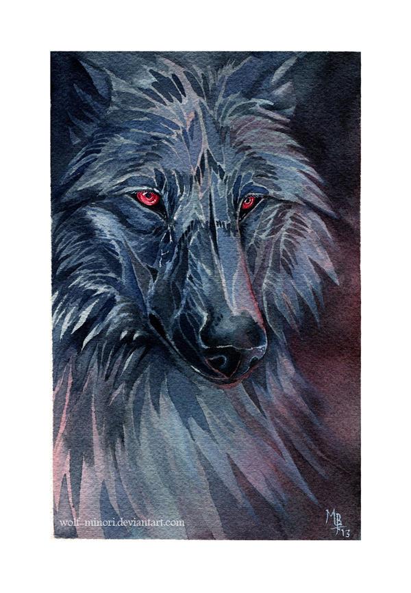 The night is dark and full of terrors by wolf-minori