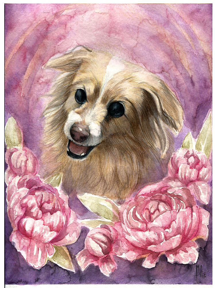 Pretty as a Flower by wolf-minori