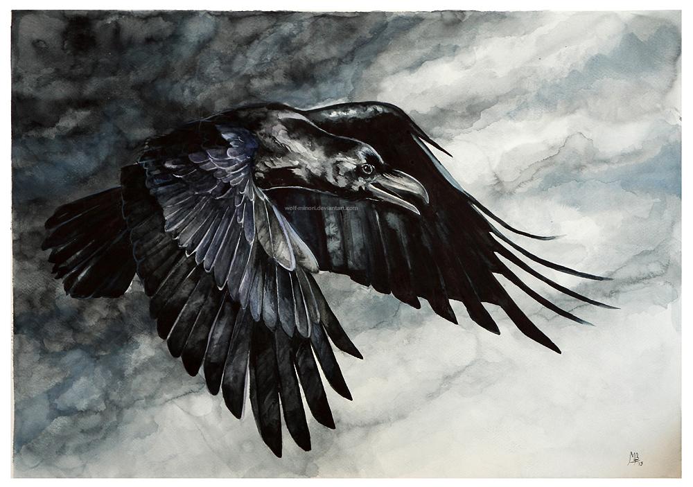 Dark Wings Dark Words by wolf-minori