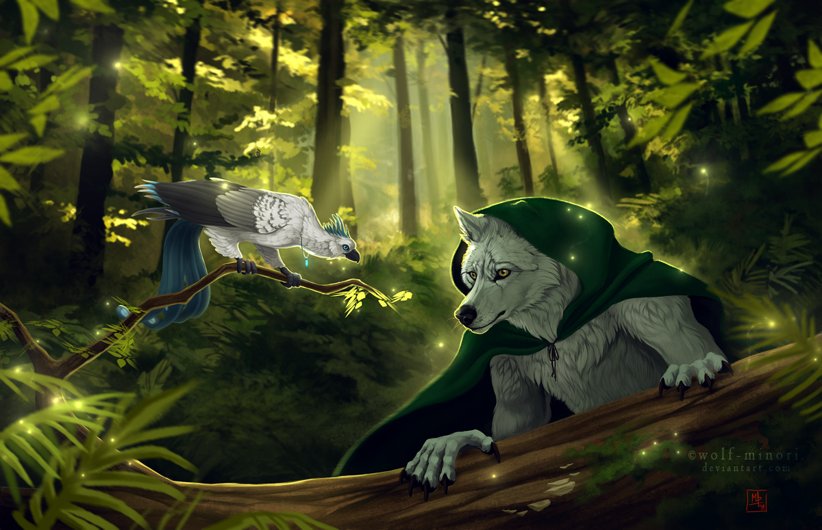 Late afternoon hunt by wolf-minori