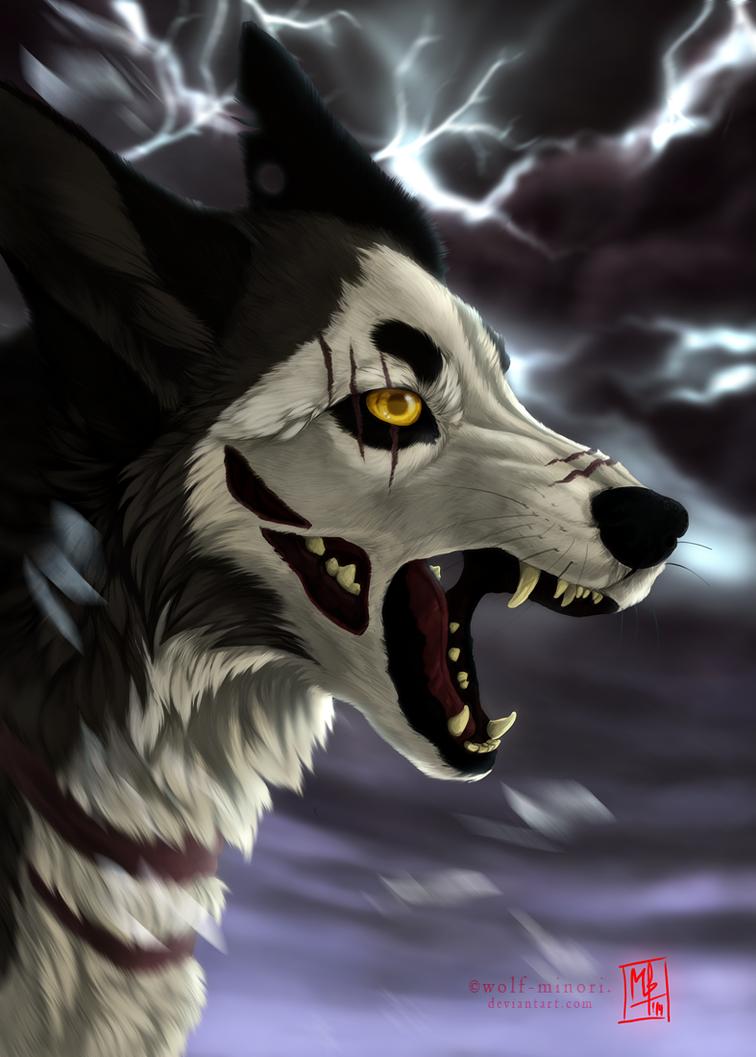 Raging Storm by wolf-minori