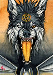 Ember - ACEO for WhiteSpiritWolf