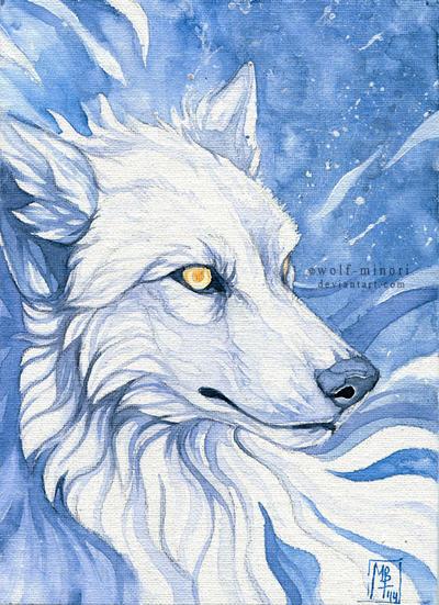 Pure Spirit by wolf-minori