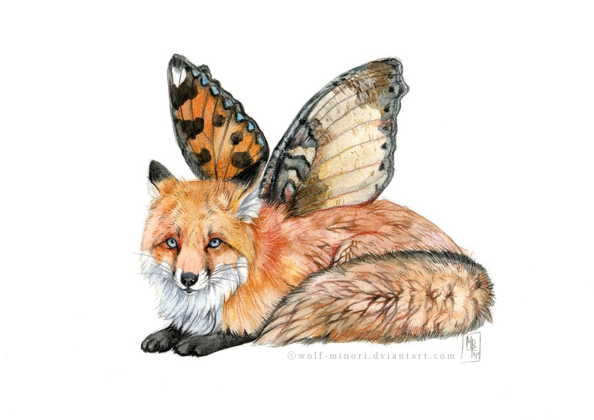FlyFox by wolf-minori