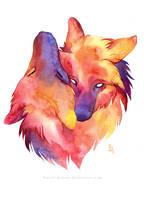 Warming love by wolf-minori