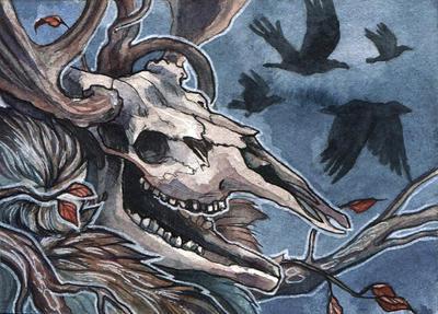 Leshen ACEO by wolf-minori