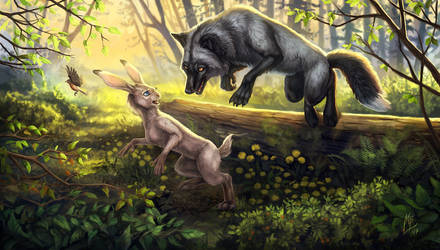 Master of stealth by wolf-minori