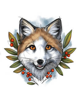 Mistletoe fox
