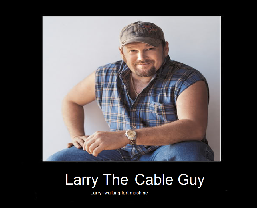 Larry The Cable Guy By Sararachan1 On DeviantArt