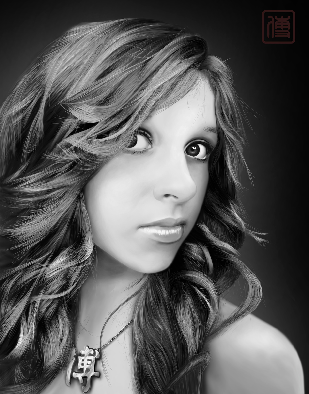 morgan digital painting final by JoeDieBestie