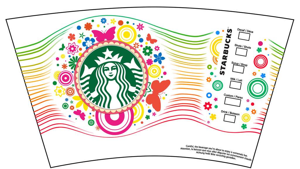 Starbucks 2016 Spring Cup Design