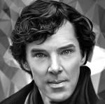 Digital Drawing Benedict Cumberbatch