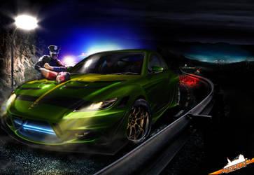 Mazda RX-8 NFS by galantaigeri
