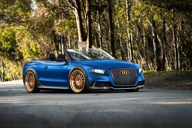 Audi A5 Cabrio by galantaigeri