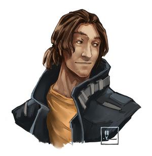 Ian Evans | Shadowrun character concept