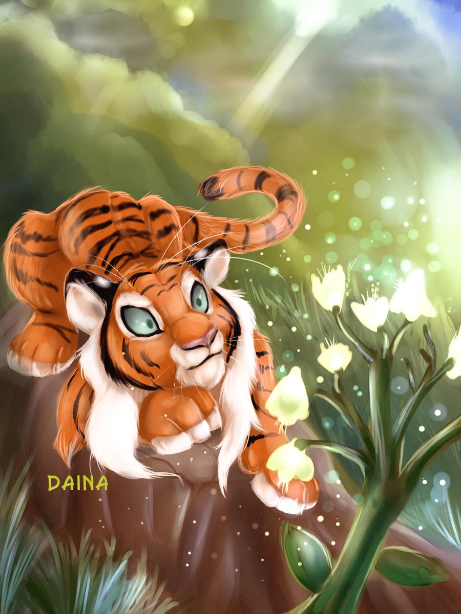 Mysterious Flower by TigresaDaina