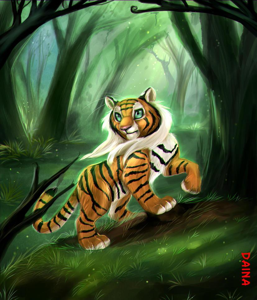 Magical Forest by TigresaDaina