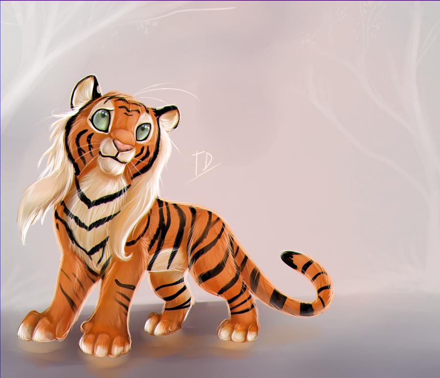 Little Tigress by TigresaDaina