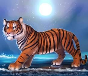 Tiger Tiger by TigresaDaina