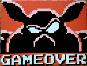 Ganon Game Over Pixel Painting